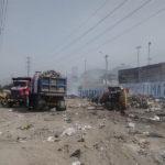 Alcalde de San Juan de Lurigancho apoya con 10 camiones para el recojo de basura en Villa María del Triunfo