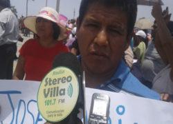 Dirigente sostiene que asociación de comerciantes José María Arguedas cuenta con zonificación para uso comercial