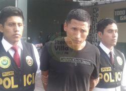 Capturan a presunto secuestrador de 4 menores de edad en Villa El Salvador