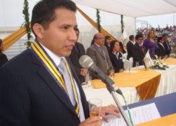 """Guido Iñigo: """"En mi gestión como alcalde no permitiré ninguna invasión"""""""