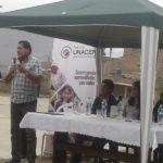 Jefe de seguridad ciudadana se compromete a recuperar casetas y combatir la delincuencia en Villa María del Triunfo