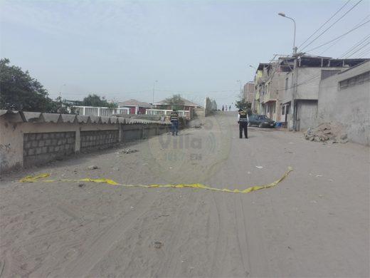Vecinos de sector 6 exigen al municipio mayor seguridad ante ola de asaltos en Villa El Salvador