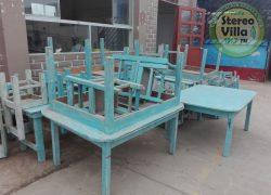 Lurín: Colegio Santa Rosa no cuenta con mobiliario en buen estado