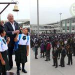 Presidente PPK inauguró año escolar 2018 en colegio emblemático de Villa María del Triunfo
