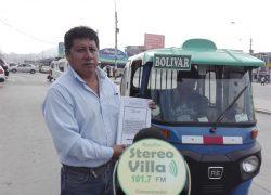 Aprueban ordenanza para regular el servicio de vehículos menores en Villa El Salvador