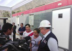 Pachacámac: Entregan vivienda después de un año a Evangelina Chamorro tras sobrevivir de huaico