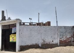 Piden apoyo para techo de local comunal en San Juan de Miraflores
