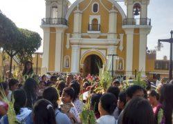 Domingo de Ramos abre la fiesta de Semana Santa en el distrito de Lurín