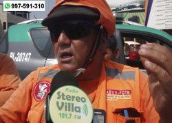 Construcción civil responde por preocupación de trabajadores que esperan laborar en obra de Villa María del Triunfo
