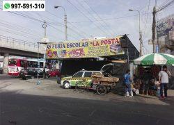 Ferias escolares invaden desde hace casi dos meses Av. Los Héroes de San Juan de Miraflores