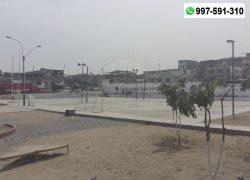 Piden desalojar a personas de malvivir de parque de San Juan de Miraflores