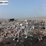 Vecinos de Lurín denuncian invasión de basura y desmonte en zona arqueológica de ruinas de Pachacámac