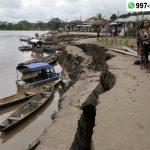 Sismo de 8 grados generó daños en 10 departamentos del Perú