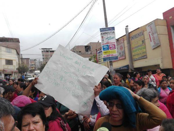 protesta, comedores populares
