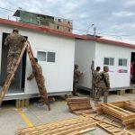 Habilitan 10 módulos de vivienda para damnificados en Villa El Salvador