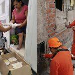 Villa El Salvador: Continua apoyo de municipio a vecinos damnificados