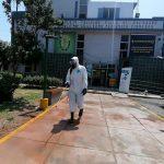 Nueva desinfección en Comisaría de Villa El Salvador contra Covid – 19