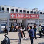 Profesionales de salud del Hospital de Emergencia de Villa El Salvador exigieron seguro y condiciones laborales
