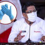 Gobierno establece el uso no obligatorio de guantes en bancos y mercados