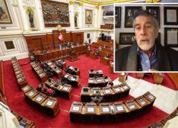 Francisco Sagasti: «Hemos modificado la Constitución con plumón, quitando cosas poniendo cosas»