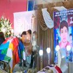 Dan último adiós a Inti Sotelo y Jack Pintado quienes fallecieron durante segunda marcha nacional