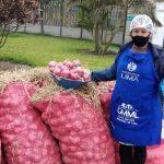 Mercado Mayorista Móvil llevó alimentos a bajo precios en San Juan de Miraflores
