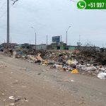 Villa El Salvador: Tramo de Av. 1 de Mayo irreconocible por acumulación de desmonte y basura