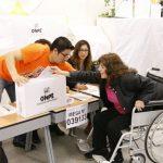 Elecciones Congresales: habrán facilidades para las personas con discapacidad
