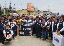 Villa El Salvador: ONPE busca voto responsable con pasacalle electoral