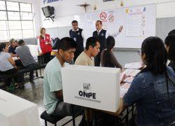 Así fue la primera capacitación para miembros de mesa en Lima Sur