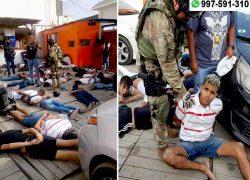 Punta Negra: Capturan a 124 presuntos criminales en bunker con armas y vehículos